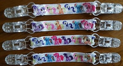 Elasticated ribbon My Little Pony mitten clips gloves No more lost gloves New