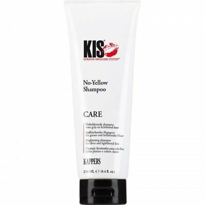 (€5,78/100ml) KIS No-Yellow Shampoo für graues & blondes Haar 250 ml  █▬█ █ ▀█▀