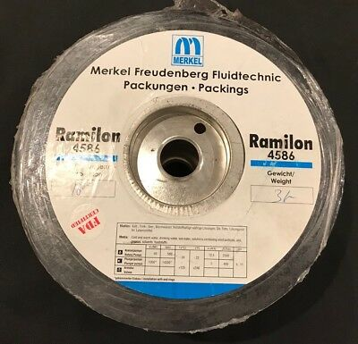 Merkel Ramilon 4586 Pump Shaft Packing 16mm 3kg