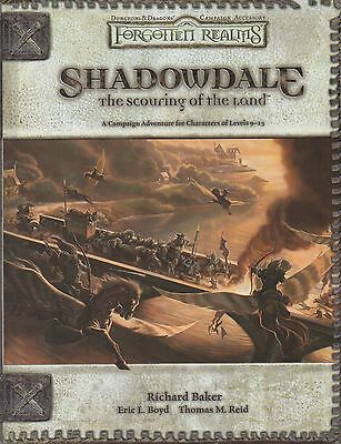 D&D-FORGOTTEN REALMS-SHADOWDALE-The scouring of the Land-(HC)-new-very rare