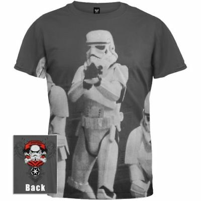 New Licensed Star Wars Storm Trooper Attack Formation Glow in Dark T Shirt S-2XL