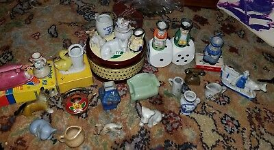 Occupied Japan  Lot of 24 ceramic figurines REALLY COOL PIECES