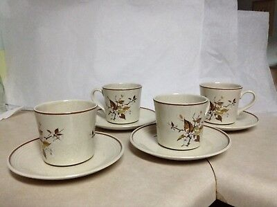 Vintage Royal Doulton Wild Cherry Lamberthware Cups & Saucers