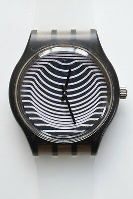 Contemporary Classic watch -  Retro 80s vintage style designer watch