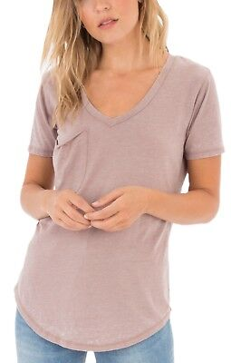 830dde79b58d9 Z SUPPLY THE Washed Cotton Pocket Tee in Gray ZT181284 -  30.00 ...