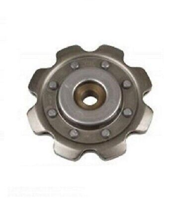 "Stamped Idler Sprocket 8 Tooth, 1/2"" Bore, 2060 Chain USA"