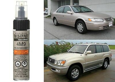 Genuine Toyota 00258-004M9-21 Cashmere Beige Metallic 4M9 Touch-Up Paint Pen New