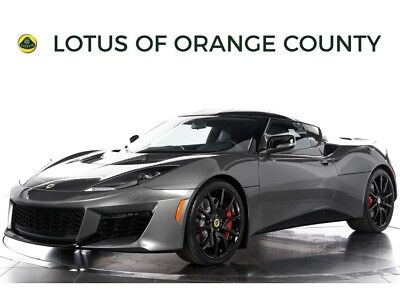 "2017 Lotus Evora 400 ""NEW FROM FACTORY"" 2017 Lotus Evora 400 - NEW FROM FACTORY, LEATHER PACK, BLACK PACK"
