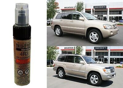 Genuine Toyota 00258-004R3-21 Sonora Gold Pearl 4R3 Touch-Up Paint Pen New USA