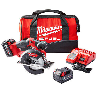 Milwaukee 2782-22 M18 FUEL 18-Volt Brushless Lithium-Ion 5-3/8 in. Metal Saw Kit