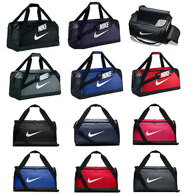Nike Brasilia Bag Training Sports Holdall Gym Travel Kit Duffel Soccer XS S M