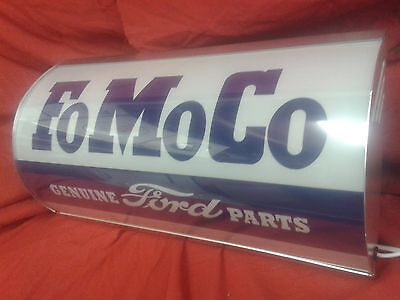 Ford,FOMOCO,escort,cortina,hot rod,garage,light up,sign,display,mancave,workshop