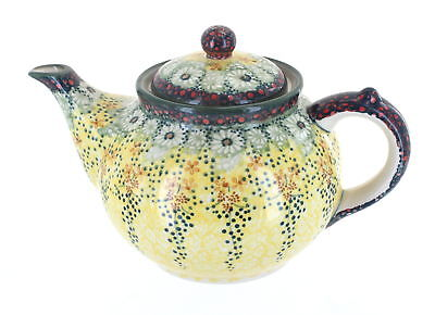 Sunshine Grotto Teapot Polish Pottery