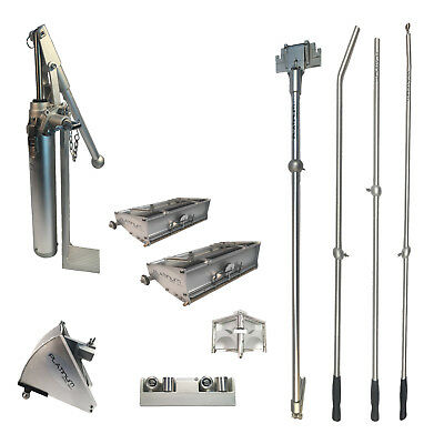 """Pro Platinum Drywall Tools Finishing Set of w/ 8"""" and 10"""" Flat Boxes"""