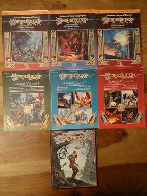 DragonLance Choose from different Modules good to very good condition (AD&D,TSR)