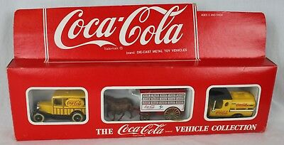 Rare Hartoy Coca Cola Coke Vehicle Collection Metal Toy Car Die Cast England Vtg