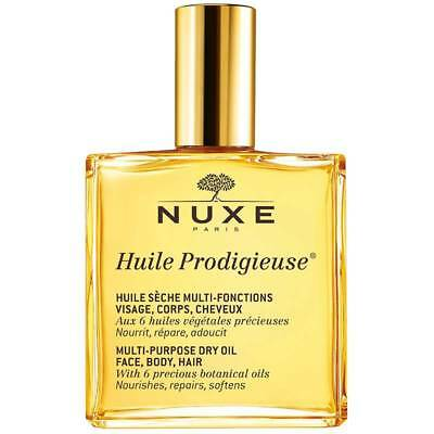 Nuxe Huile Prodigieuse Multi-Uso Dry Oil For Face / Body / Hair 100Ml