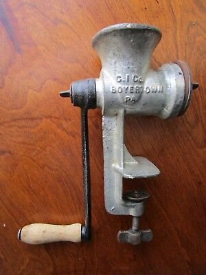 Vintage KEYSTONE No. 10 BOYERTOWN Co. PA, Meat/Food Grinder