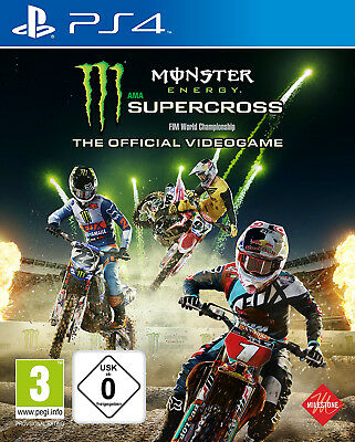 PS4 Monster Energy Supercross The Offcial Videogame Nuovo e Conf. Orig.