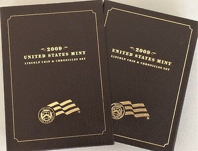 2009 US MINT LINCOLN COIN & CHRONICLES SET w/OGP/COA