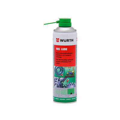 Wurth HHS Lube - Dirt Repelling Long Life Spray Grease 500ml