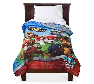 Paw Patrol Just Yelp for Help! Comforter FULL OR TWIN YOUR CHOICE
