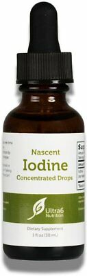 Nascent Iodine Concentrated Drops, Ultra6, 1 oz