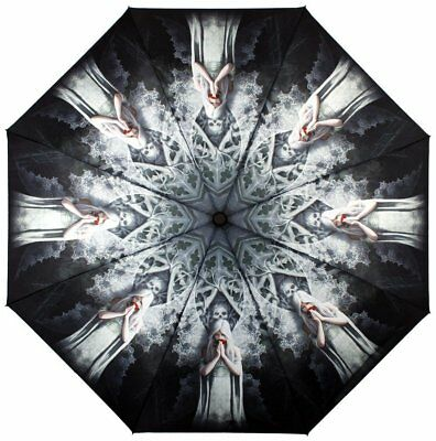 Only Love Remains Gothic Angel Fairy Umbrella By Anne Stokes