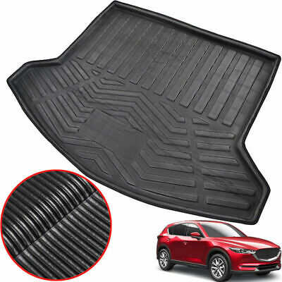 Car Rear Trunk Boot Mat Cargo Liner Floor Tray Fits Mazda CX-5 CX5 KF 2017 2018