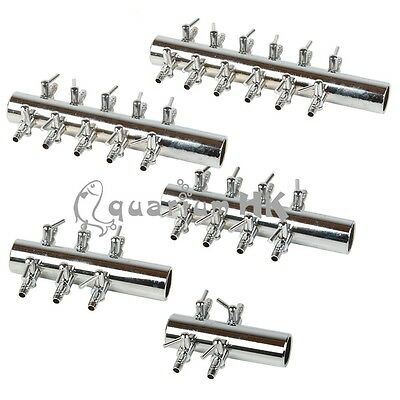 4mm Stainless Steel Control Valve Aquarium Double Air Splitter Flow Controller