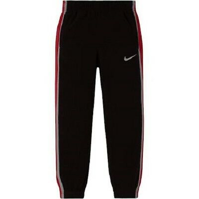 4ca33e11eded9 Nike Therma Pants Boys Size 4 Black Red $38 Gift Athletic Dri-Fit (GB