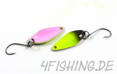 TROUT BAIT GROSI der Highend Spoon by Zielfisch FARBCODE 38