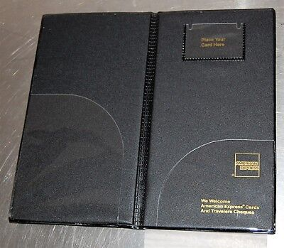 Set of 2 American Express Guest Check Folio Cover  - New, never used