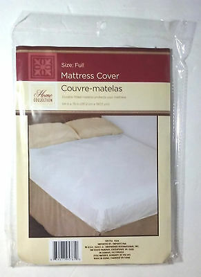 Mattress Protector Waterproof Cover Full Size Fitted Bed Dust Mite Soft Pad New