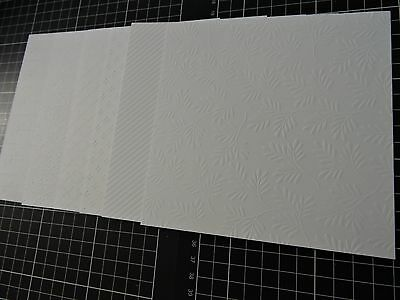 Stampin up Fancey Frost paper