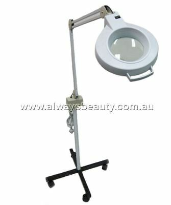 Magnifying Lamp On Stand Good for fine Work Waxing Eyebrow lining AUSSIE SALE