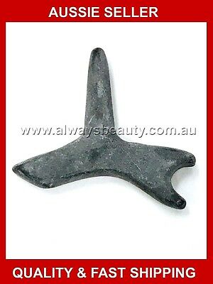 Hot Stone Massage Gua Sha  Working Stone Pointed Shape Natural Basalt Stones