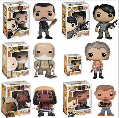 UK Stock Funko Pop The Walking Dead Figure Michonne Daryl Herschel Carlo Toy Box