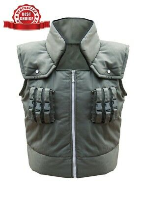 XL Naruto Kakashi Hatake Vest Mens Cosplay REUSABLE Costume Ninja Party Props