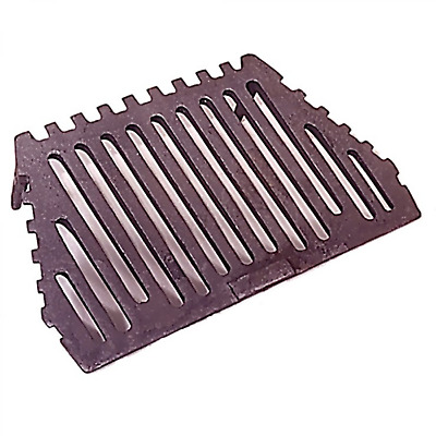 "16""/18"" Inch Fire Grate for LATTICE All Night Burner - Flat Front - 2 Legs REGAL"