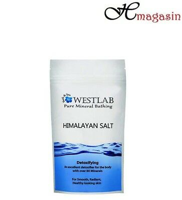 Westlab Pure Himalayan Bath Salt - 5kg Naturally Detoxifying