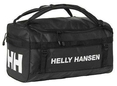 Helly Hansen New Classic Duffel Holdall Bag XS 30L 67166/990 Black NEW