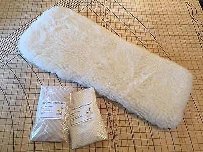 Baby Jogger Deluxe carrycot bassinet Woollen Underlay + Two Sheets