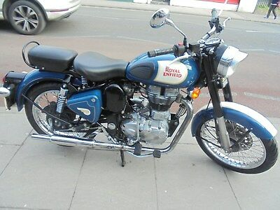 Royal Enfield Bullet 500 Lagoon Blue 2015 One Owner 239500
