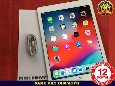 Grade A Apple iPad Air 2 16GB Wi-Fi 9.7in Gold +Touch ID Retina Display iOS 13
