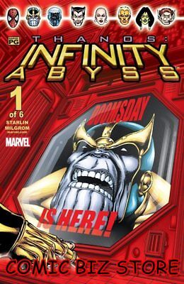 Thanos: Infinity Abyss #1 (2002) 1St Print Bag & Boarde Marvel Comics