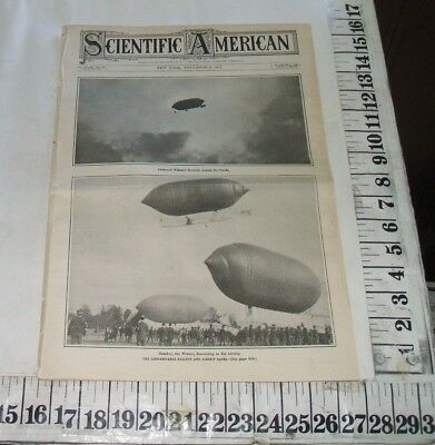 1907 Ballooning Long Distance Balloon Race From St Louis