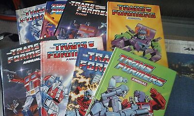 Transformers Annuals Colletion 85 To 90 And Complete Works Volume 2