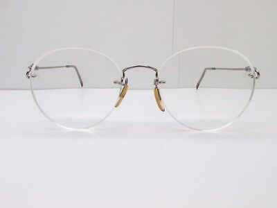 e2d6698e8e Kazuo Kawasaki MP-631 EYEGLASSES FRAMES 50-19-140 Rimless Drill Mount TV6