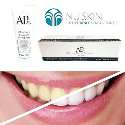 100% Genuine Nu Skin AP-24 Whitening Fluoride Toothpaste, No Peroxide, UK Stock